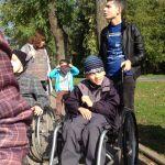 Прогулка в парке им. Горького