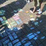 Конкурс рисунков на асфальте «Мы рисуем лето»