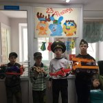 Праздник, посвященный Дню защитника отечества «А ну-ка, мальчики!»